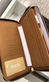 MK tri fold wallet