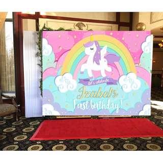Unicorn Custom Banner