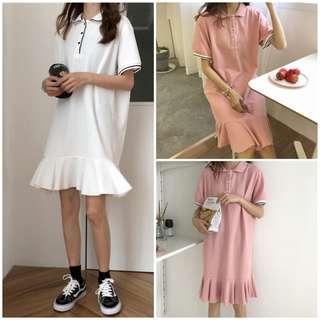 Women Simple Polo Dress