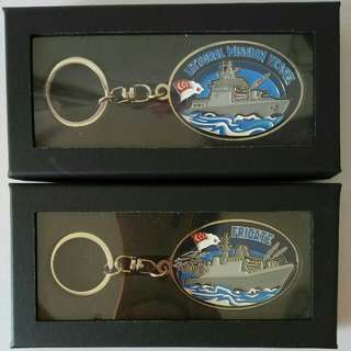 Singapore Navy Keychains