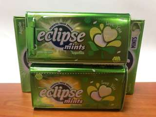 "Taiwan Eclipse Sugar-free Mint (""Love You"" Limited Edition)"