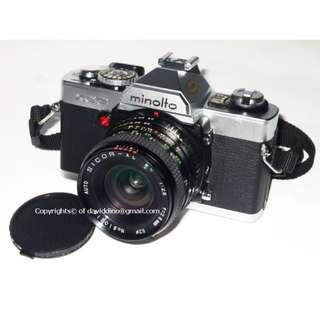~~~ VinTage MiNoLTa XG 9 SLR FiLm CaMeRa & 4 Lens SuPeR BunDLe  (NeGoTiaBLe!!!) ~~~