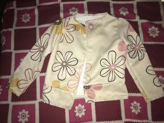 Blazer flower design