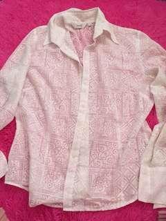 Lace White Shirt