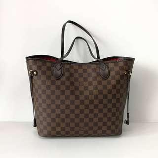 Authentic Louis Vuitton Neverfull MM Damier Bag