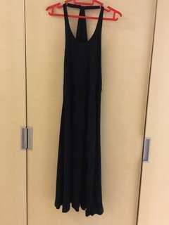 Club Monaco Elegant Halter-neck Low Back Dress 長身裙