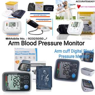 Fully Automatic Digital Upper Arm Blood Pressure Monitor Clinically Validated Sphygmomanometer Health Care