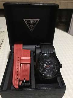 Guess analog wrist watch