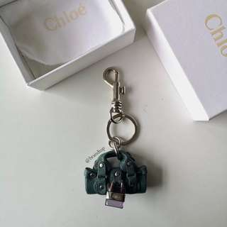Authentic Chloé Paddington Bag Charm Key Ring