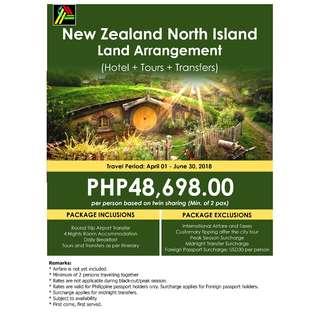 New Zealand North Island Land Arrangement