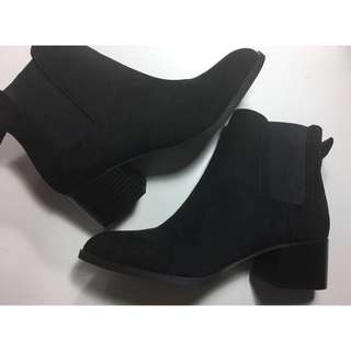 Heeled Ankle Boots - NEW