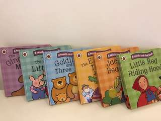 Ladybird Touch & feel books (6 in a set)