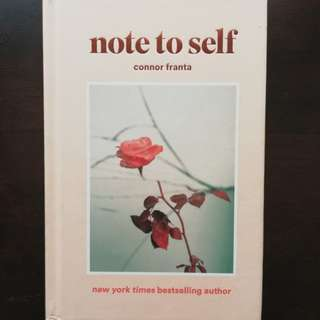 Note To Self by Franta, Connor