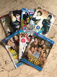 DVDs korean series + movie