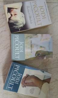 Books by Jodi Picoult ($15 for all 3)
