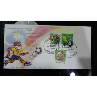 First Day Cover - World Youth Football