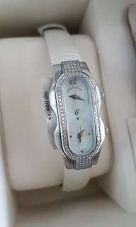 PHILIP STEIN Mini Double DIAMOND Women's Watch Signature Collection BRAND NEW AUTHENTIC!