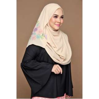ISABELLE Instant Shawl Pearled Ivory 2