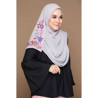 ISABELLE Instant Shawl Silver Grey