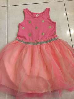 🆓📮COTTON ON GIRLS DRESS 2years old