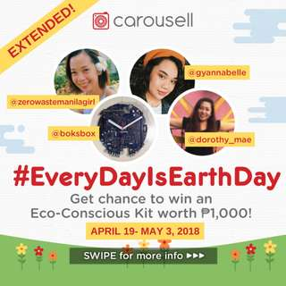 🍃Giveaway Extended! Win an Eco-Conscious Kit #EverydayIsEarthday