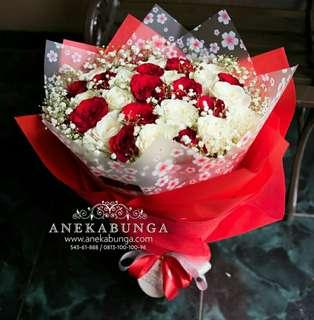 Bunga hand bouquet ulang tahun - birthday - wisuda - graduation - pembukaan toko - Anniversary - kenaikan jabatan