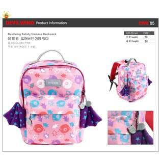★ 2018 NEW ARRIVAL★ Authentic Korea DevilWing School Bags DWB05