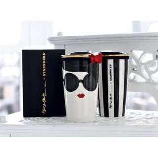 🚚 Starbucks x Alice & Olivia 2015 聯名系列 絕版限量 陶瓷馬克杯