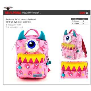 ★ 2018 NEW ARRIVAL★ Authentic Korea DevilWing School Bags DWB06/DWB07