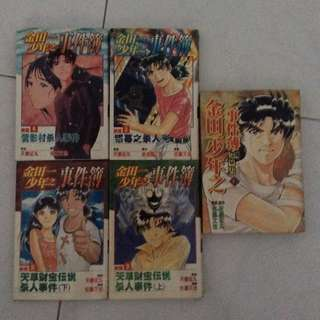 Young Kindaichi detective comic