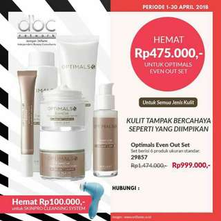 Optimals Even Out Skincare Set