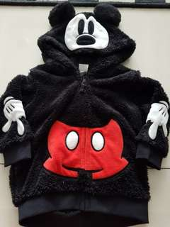 H&M mickey mouse hooded sweater