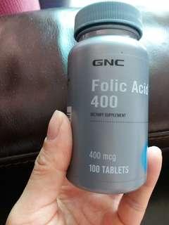 GNC Folic Acid葉酸