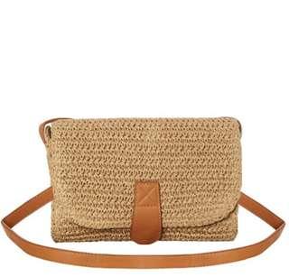 BNWT Swell Straw Bag
