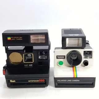 懷舊  Polaroid  相機2部(不包好壞)