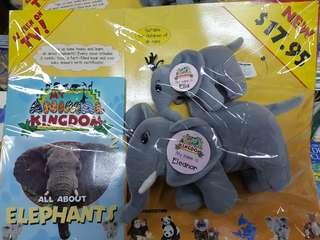 My Animal Kingdom soft toy ( Elephant)