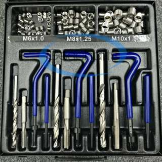 King Toyo Combination Thread Repair Kit (Single Coil)