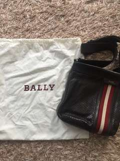 bally sling bag authentic