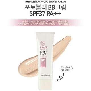 The Face Shop PHOTO BLUR, BB Cream SPF 37+