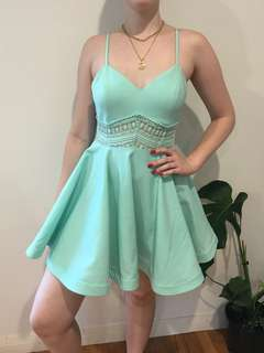 🐬 Teal Summer Dress