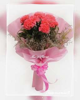 Fresh Carnations for dearest mother's
