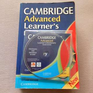 {Free CD} Cambridge Advanced Learner's Dictionary
