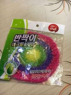 🚚 韓國製的菜瓜布