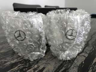Mercedes-Benz expresso cups