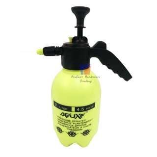 Deluxe 2Liter Heavy Duty Garden Pressure Water/chemical Spray Pump -Yellow