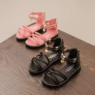 夏季兒童軟底羅馬鞋涼鞋