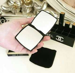 Chanel Mini Compact Two Side Mirror
