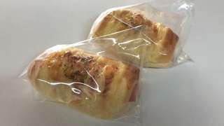 Chicken slice and cheese bun