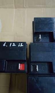 Battery yuasa 12v22ah   4pcs