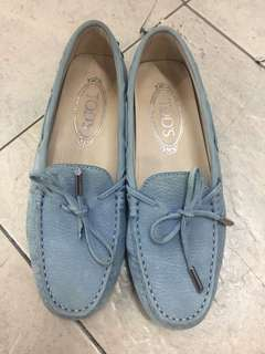 AUTHENTIC USED Tods Loafers 35 1/2
